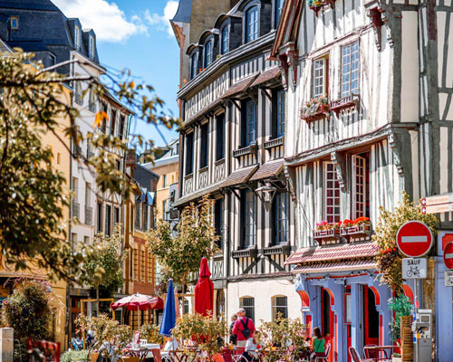 Byvandring i Rouen (F, L)