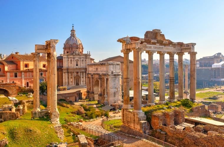 DET ANTIKKE ROMA – OMVISNING PÅ COLOSSEUM OG FORUM ROMANUM (F, L)