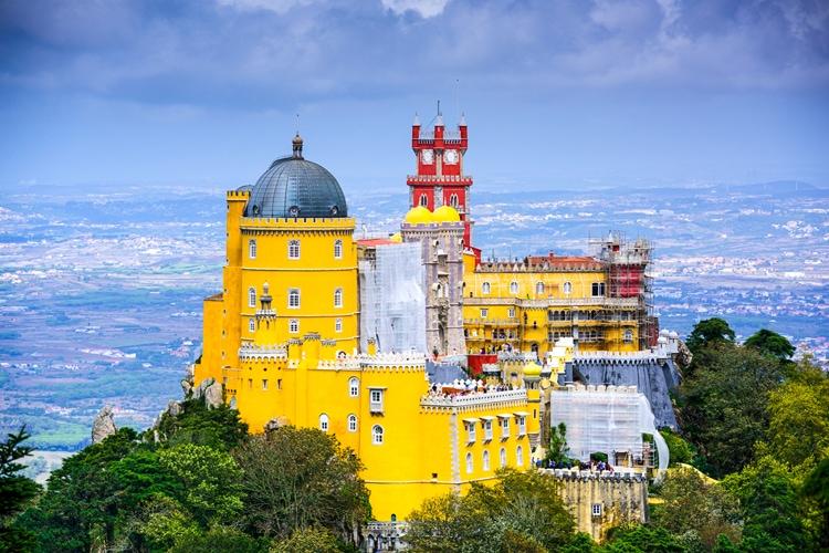 Vandring: Pena Palace - Sintra (F, L, M)