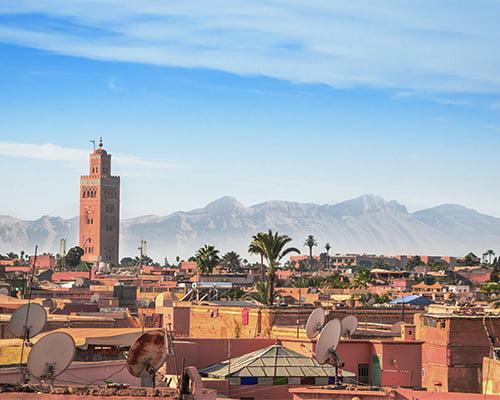 Fargerike Marokko