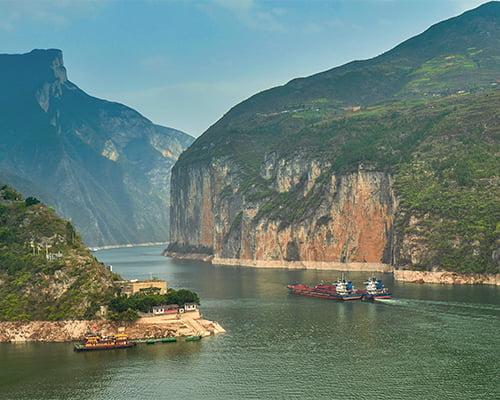 Kina - med elvecruise på Yangtze