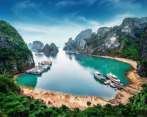 Vietnam - fra nord til sør