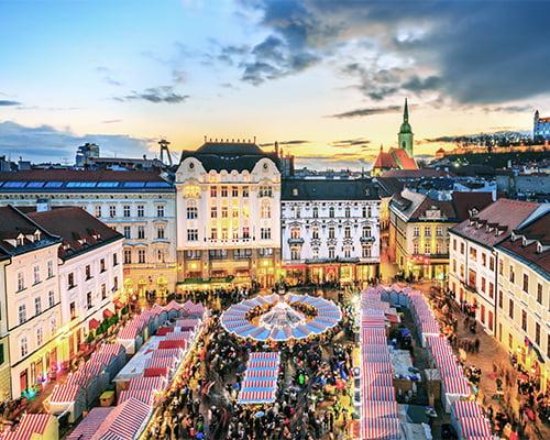 Julemarkedscruise langs Donau