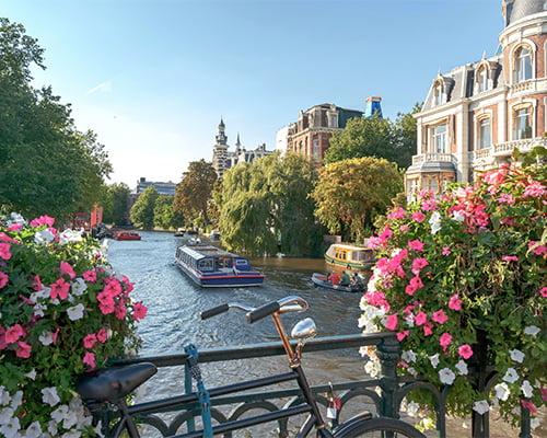 Vårcruise i Nederland & Belgia
