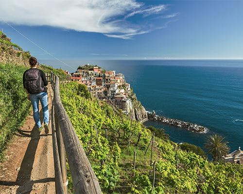 Vandringer i Liguria med Cinque Terre