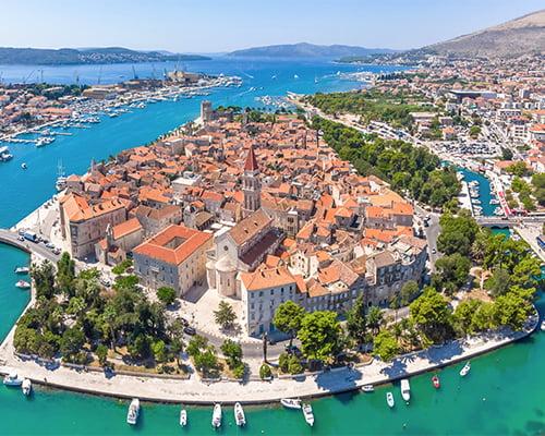 Podgora - Kroatias strandjuvel