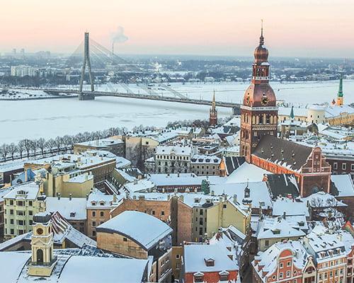 Singeltur - Nyttår i Riga
