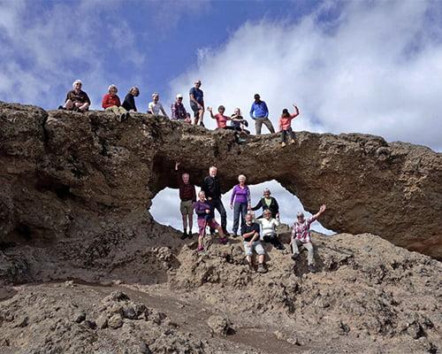 Mandelblomstring og vandring på Gran Canaria