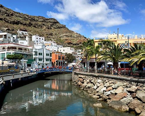 Seniortrening på Gran Canaria