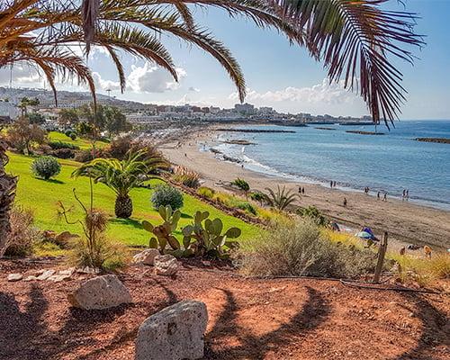 Seniortrening på Tenerife