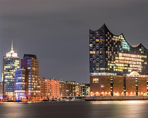 Hamburg - med konsert i Elbphilharmonien