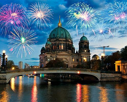 Nyttårsfeiring i Berlin