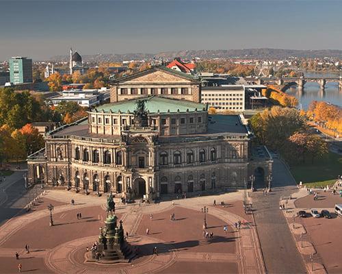 Opera i Leipzig & Dresden