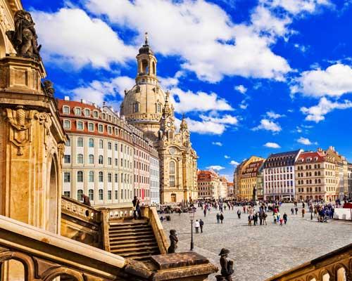 Valgfri utflukt til Dresden (F)