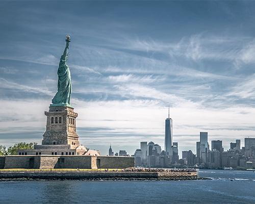 Frihetsgudinnen og Ellis Island (F)