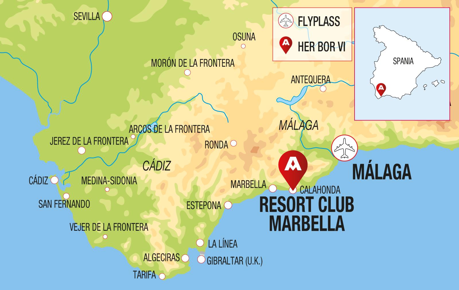 Kart Marbella
